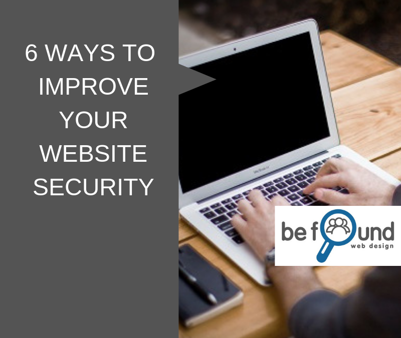 6 Ways to Improve Your Website Security