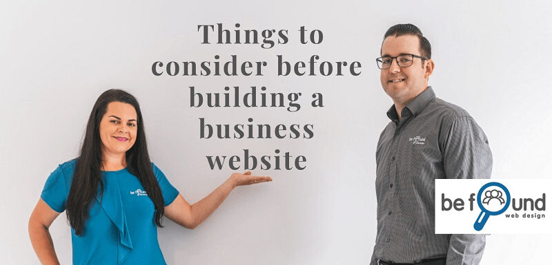 7 Important Factors to Consider Before Building a Business Website
